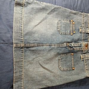 Old Navy Denim jean skirt